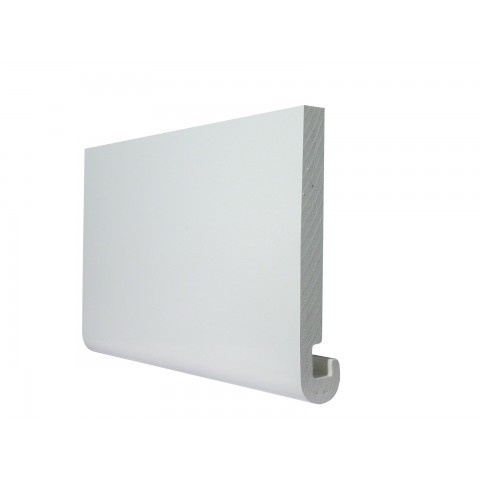 16mm Bullnose Replacement Fascia White