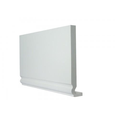 16mm Ogee Replacement Fascia White