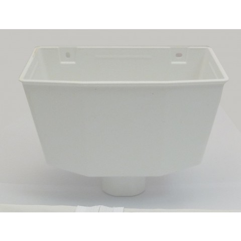 Universal Downpipe Hopper White