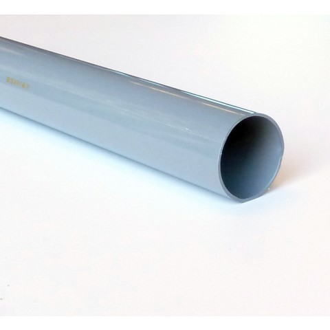 68mm Round Downpipe Grey