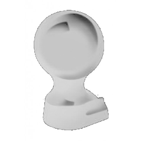Alumininium Small Ball Finial White