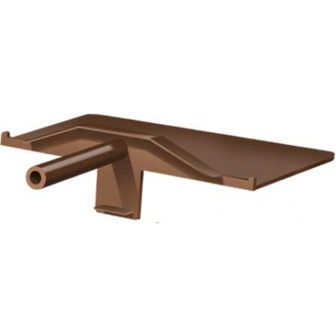 Snap Down PVC Bridging Brown