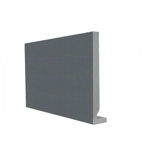 16mm Square Leg Replacement Fascia Textured Dark Grey RAL 7016