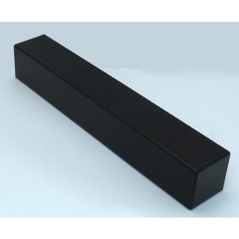 External 300mm Square Fascia Corner Black Ash