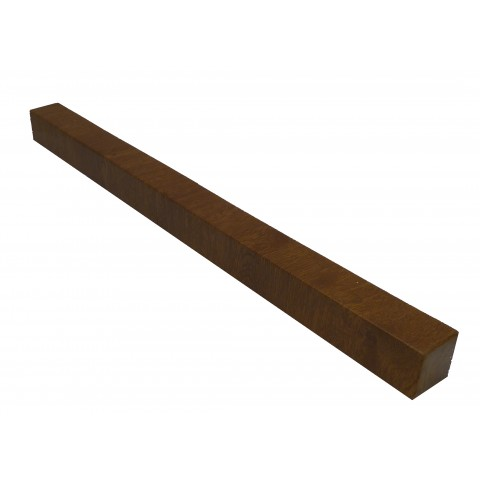 Double Ended External 600mm Square Fascia Corner Golden Oak