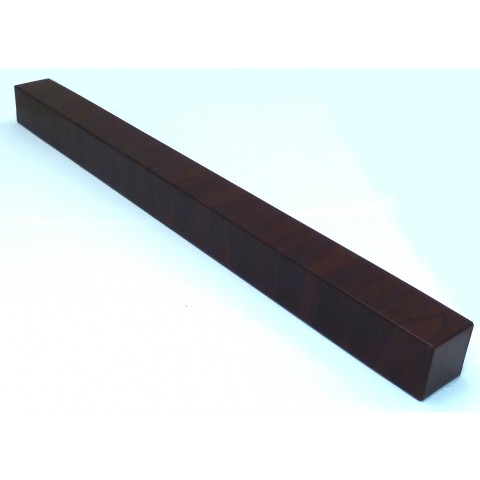 Double Ended External 500mm Square Fascia Corner Rosewood