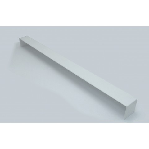 Double Ended External 600mm Square Fascia Corner White