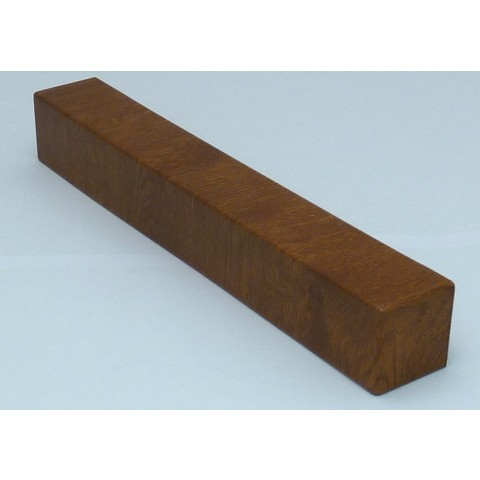 External 300mm Square Fascia Corner Golden Oak