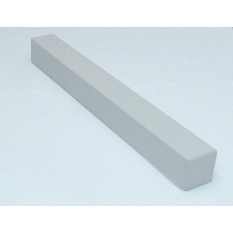 External 300mm Square Fascia Corner White