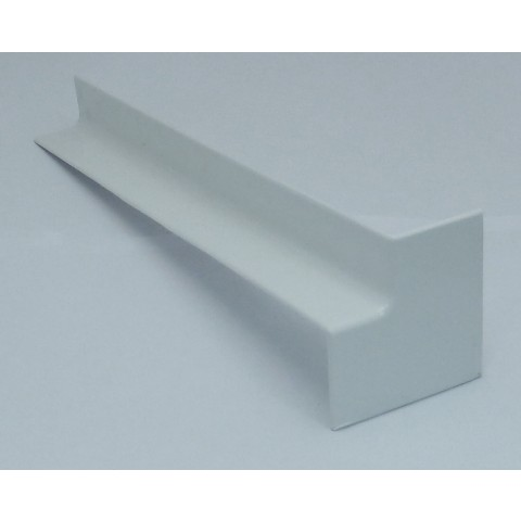 Internal 300mm Square Fascia Corner White