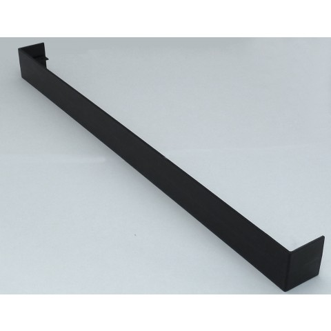 Double Ended Joint Square Fascia 500mm Black Ash
