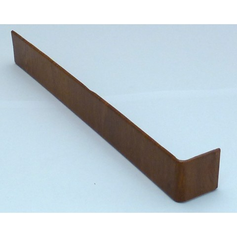 300mm Square Fascia Joint Golden Oak