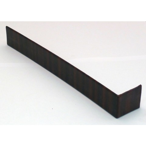 300mm Square Fascia Joint Mahogany