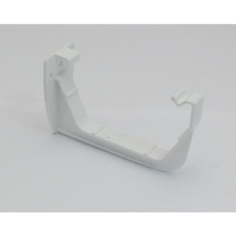 117mm Square Gutter Fascia Bracket White