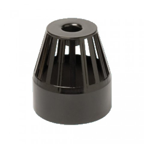 110mm Soil Pipe Vent Cowl Black
