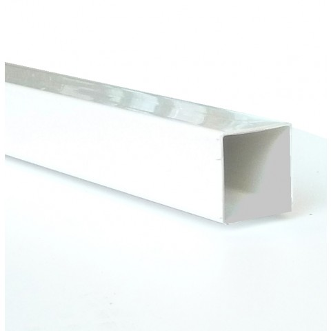 Self Support System Post White 2.5m inc Brackets