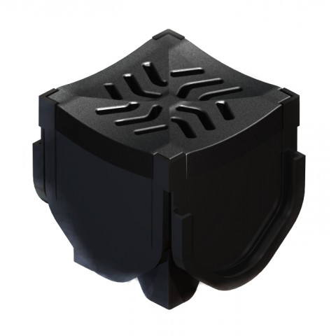 Quadrant Corner Connector Inc Plastic Grating