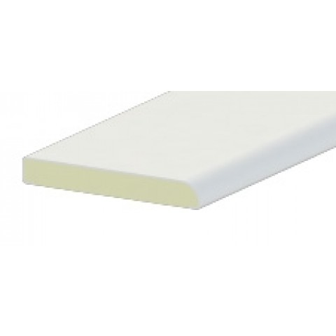 45 x 6mm Architrave Liniar White