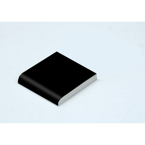 45 x 6mm Architrave Matt Black