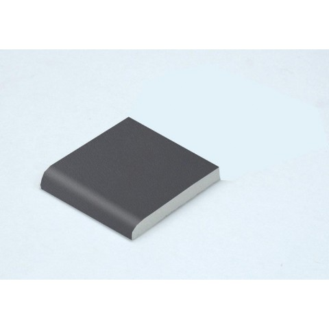 40 x 6mm Architrave Grained Slate Grey RAL 7015