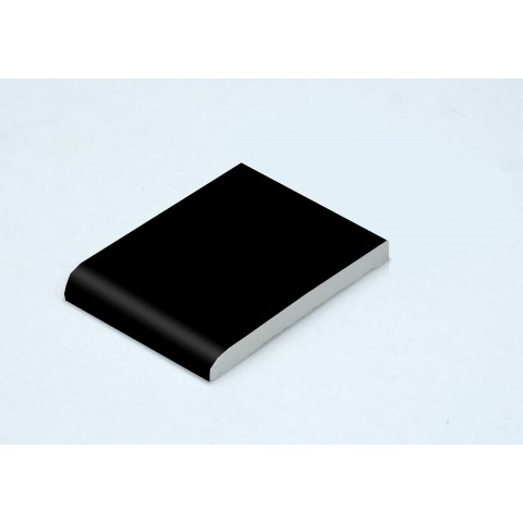 65 x 6mm Architrave Matt Black