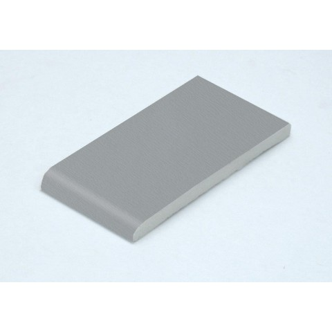 90 x 6mm Architrave Grained Light (Silver) Grey RAL 7001