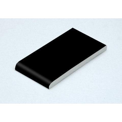 95 x 6mm Architrave Matt Black