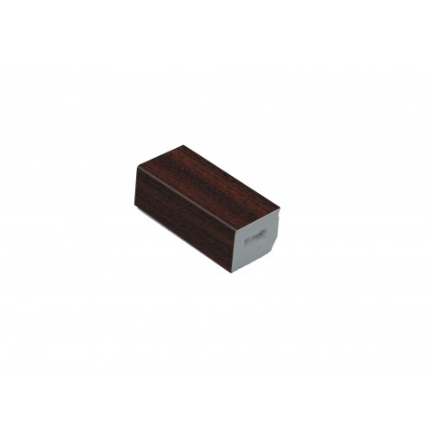 15 x 13mm Block Mahogany