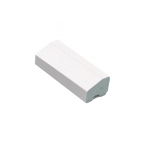 18 x 12mm Chamfered Block/Bead Trim White Ash Woodgrain Foil
