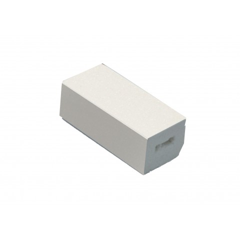 22 x 20mm Block Trim Cream