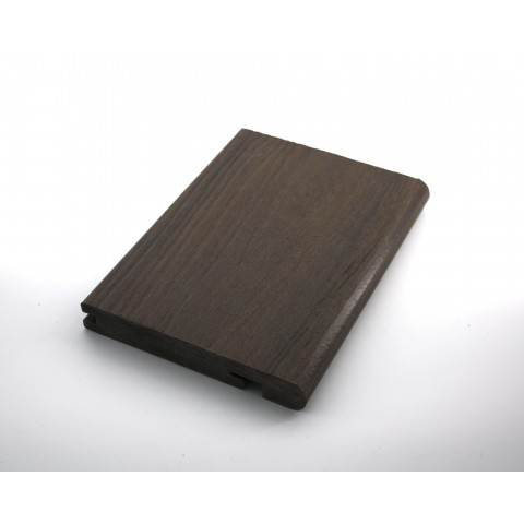 Signature Composite Bullnose Board 144mm x 3m Mahogany