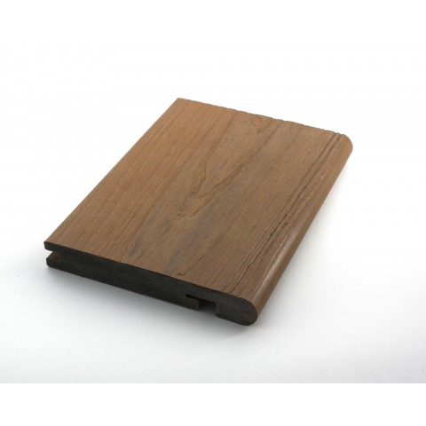 Signature Composite Bullnose Board 144mm x 3m Teak