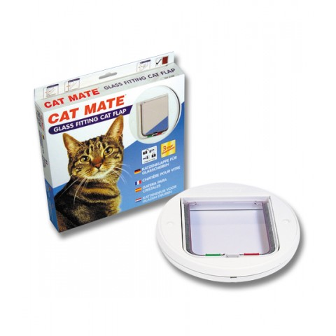 Small Cat Flap (Glass Fitting)