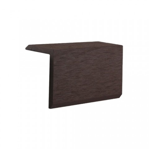 Corner Profile for Classic Composite Decking 54 x 40mm x 3m Brown