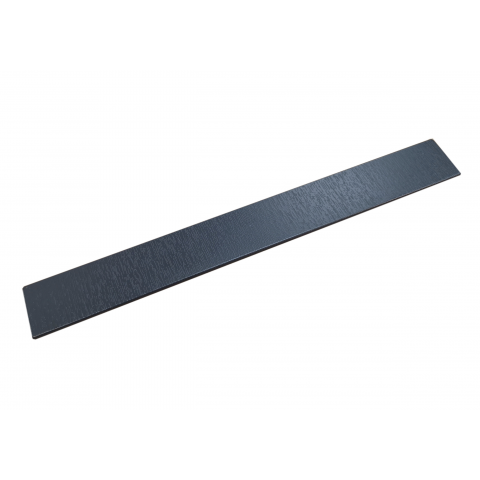 300mm Reveal End Cap Grained Anthracite Grey