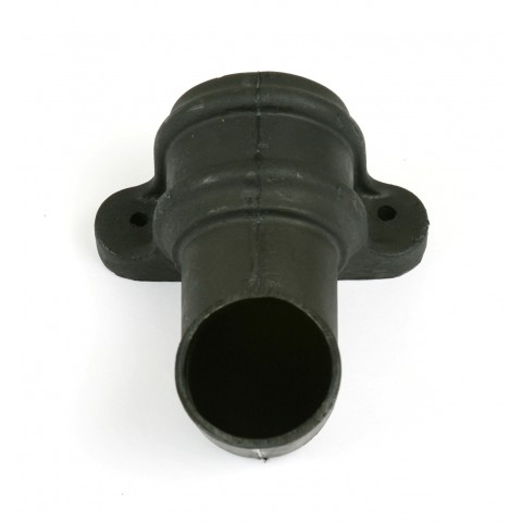 Cast Iron Style Round Downpipe Shoe with lugs