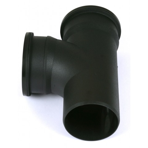 Cast Iron Style Soil 92.5° Double Socket Plain Branch