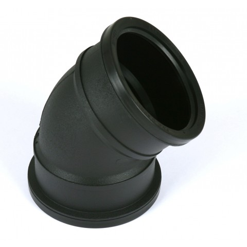 Cast Iron Style Soil 135° Double Socket Bend