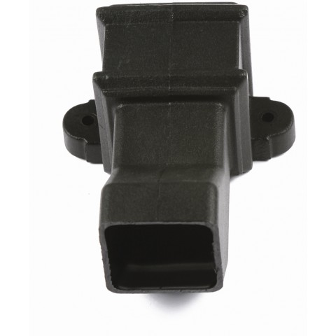 Cast Iron Style Square Downpipe Anti-Splash Shoe with lugs
