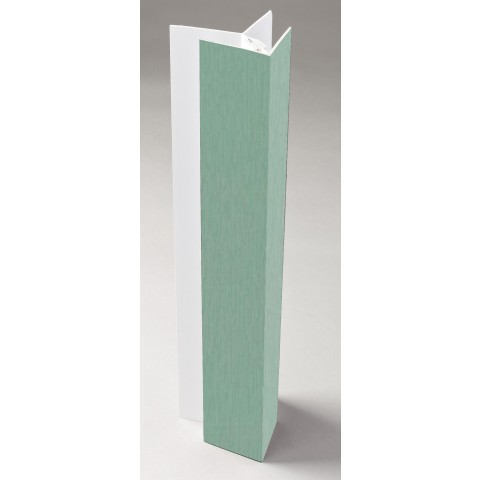 2 Part Cladding Corner Trim Solid Colour Chartwell Green
