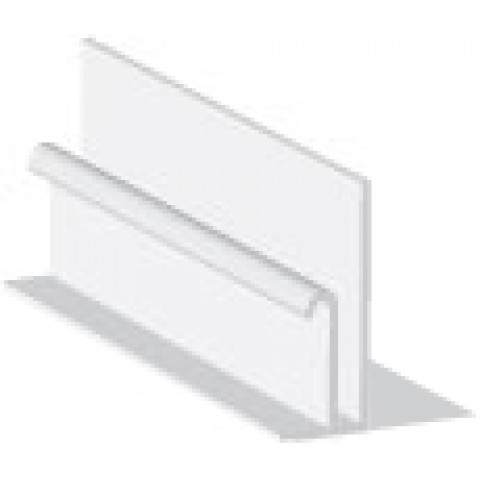 Wall Starter Trim 5m White