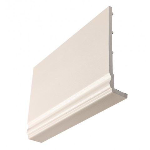 9mm Ogee Capping Board/Cover Fascia Cream Grain