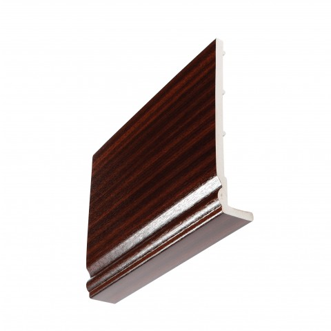 9mm Ogee Capping Board/Cover Fascia Mahogany