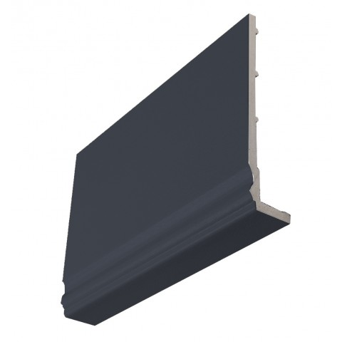 9mm Ogee Capping Board/Cover Fascia Dark Grey Textured