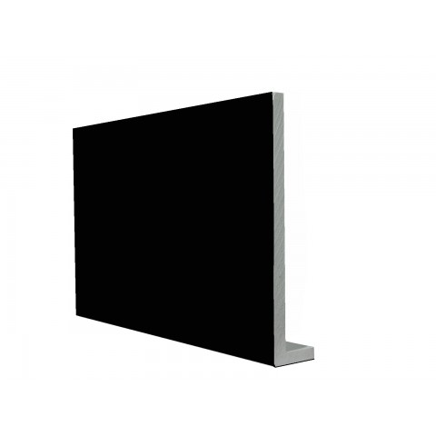 9mm Square Capping Board/Cover Fascia Gloss Black