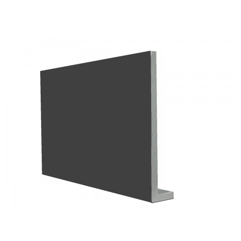 9mm Square Capping Board/Cover Fascia Gloss Dark Grey RAL 7016