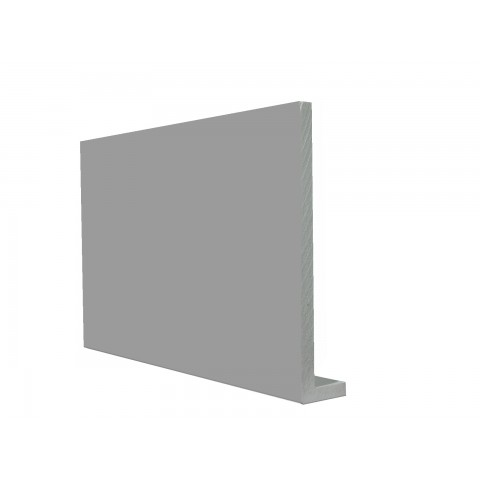 9mm Square Capping Board/Cover Fascia Gloss Light Grey