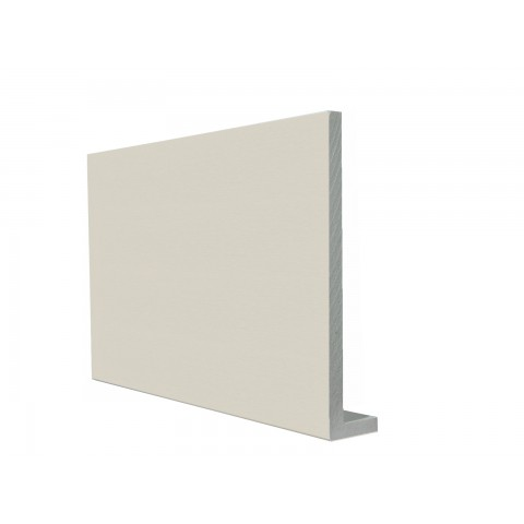 9mm Square Capping Board/Cover Fascia White Ash Woodgrain
