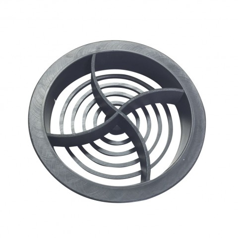 Circular Soffit Vent 70mm Dark Grey