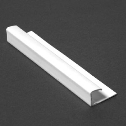 MARBREX END CAP - WHITE TRIM 2.6M